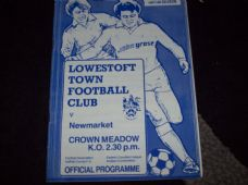 Lowestoft Town v Newmarket, 1987/88